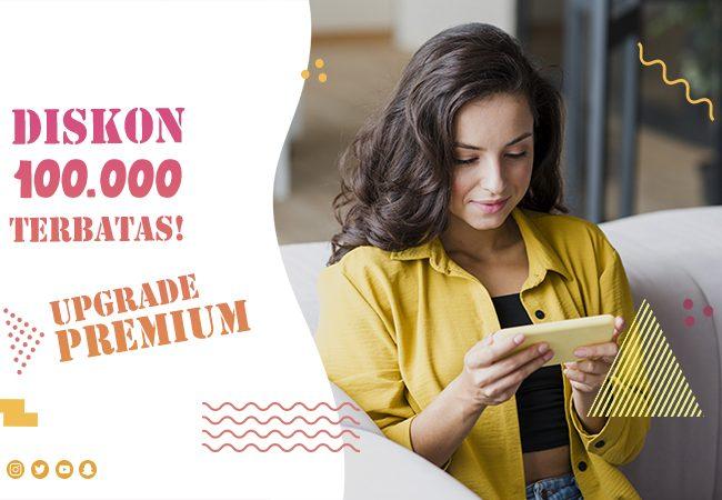Diskon Upgrade Premium