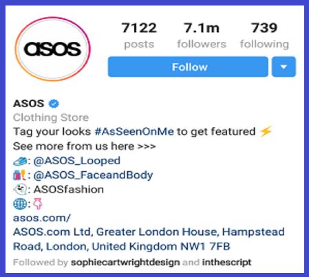 CTA dan Bio profile Instagram