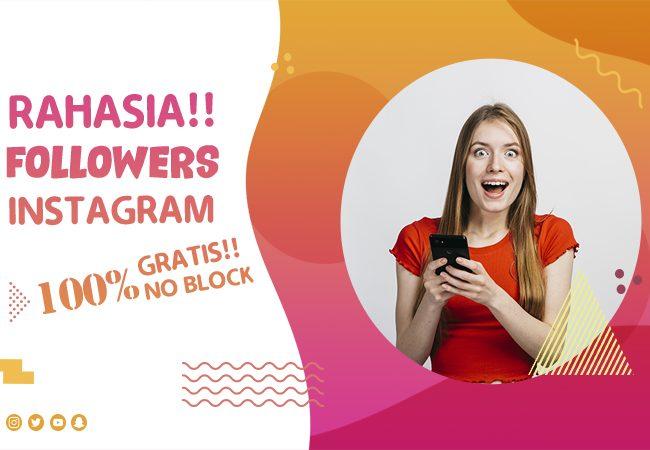 Cara Menambah Followers Instagram Gratis Aman