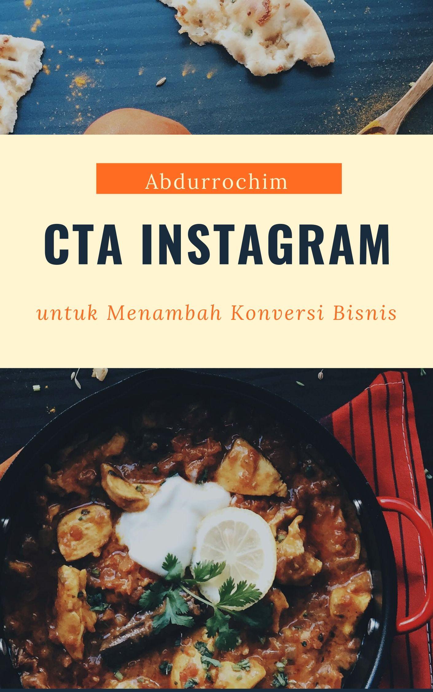 CTA Instagram untuk Menambah konversi Bisnis Online