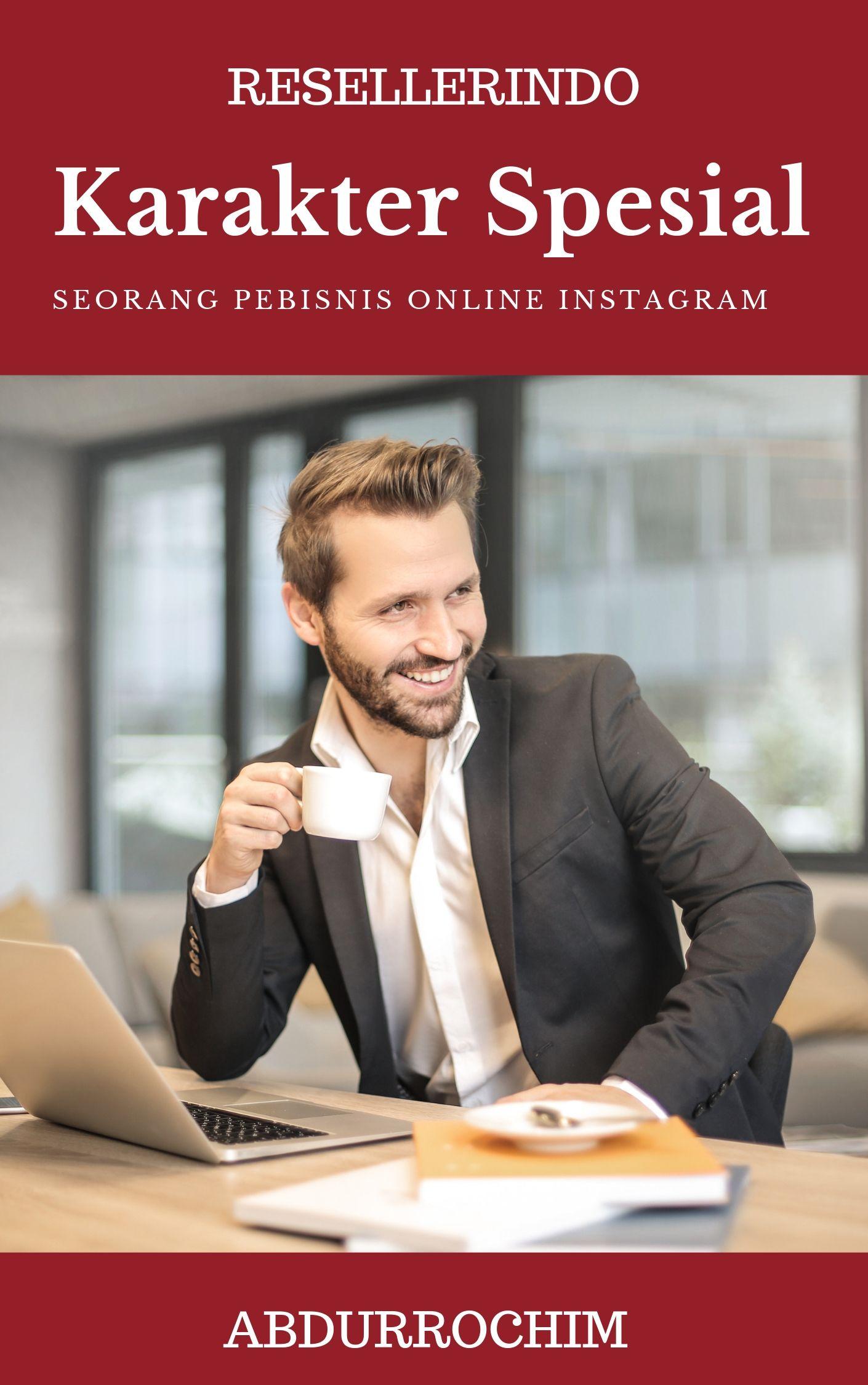 karakter pebisnis online sukses di Instagram
