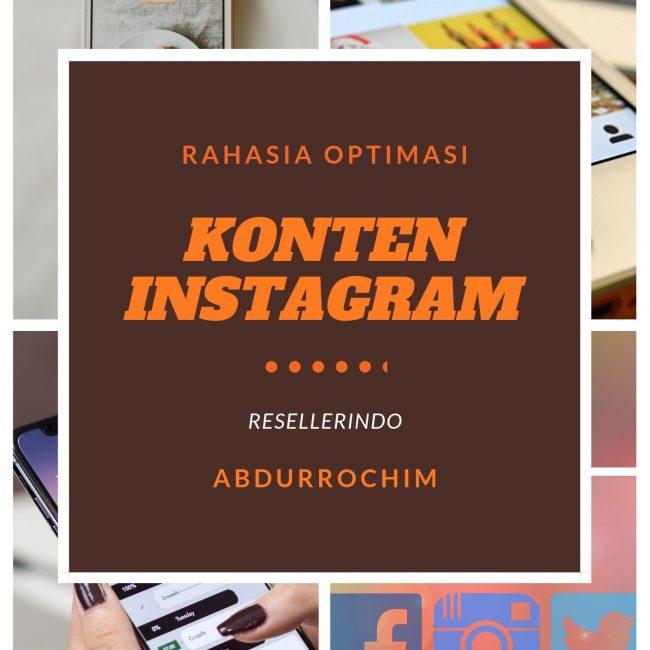 optimasi konten Instagram untuk bisnis online sukses