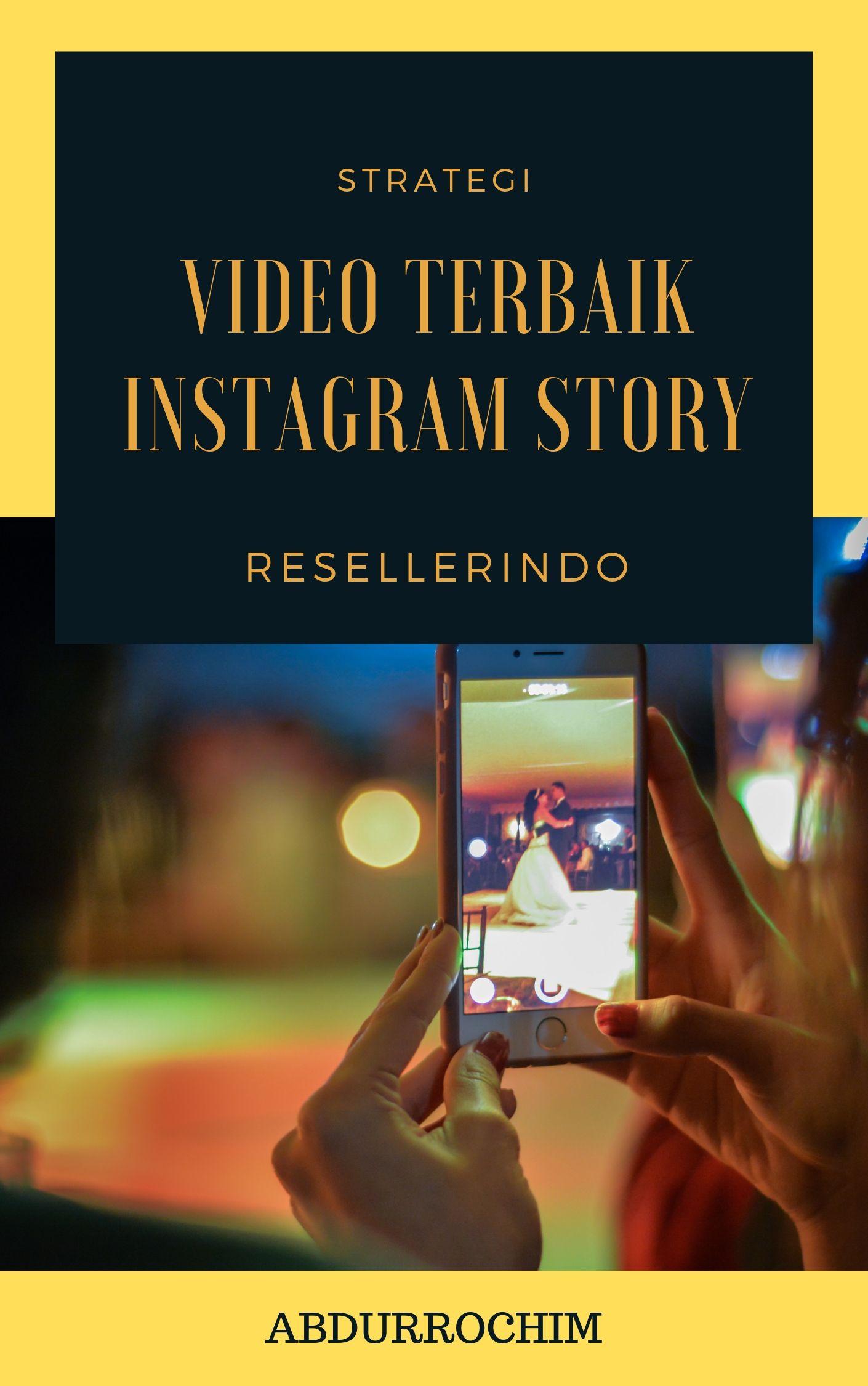 Konten Video Instagram Story untuk Bisnis Pemula
