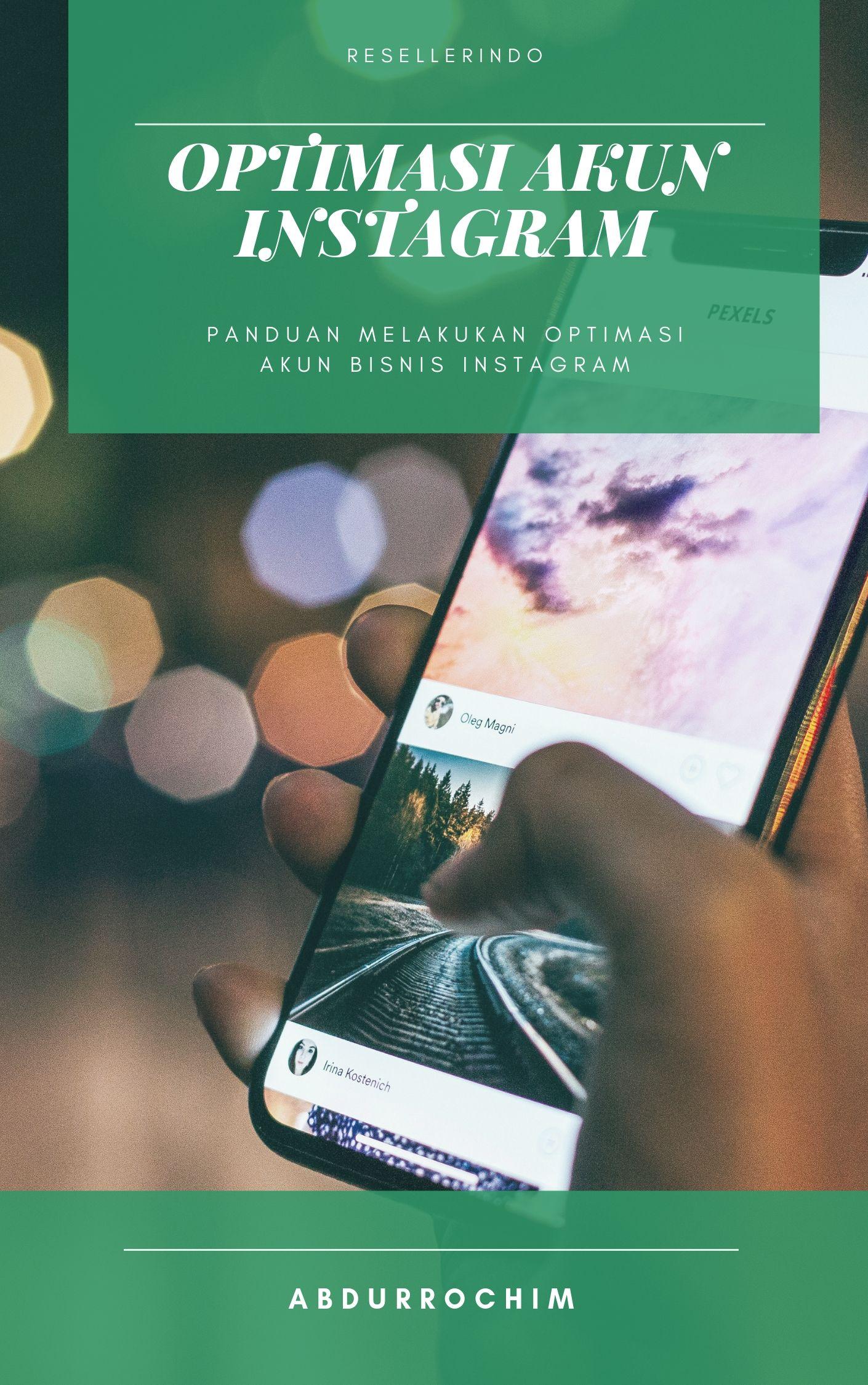 optimasi akun bisnis Instagram