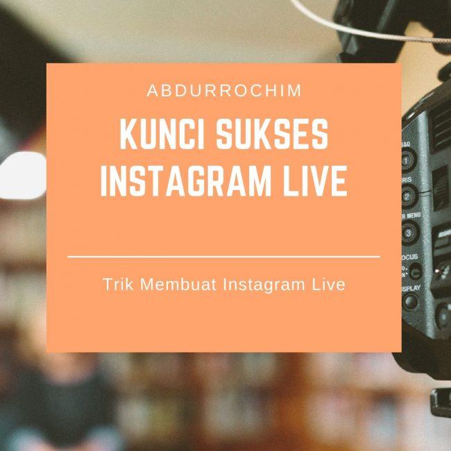 cara membuat video Instagram Live