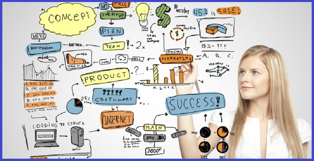 pebisnis merancang plan bisnis online