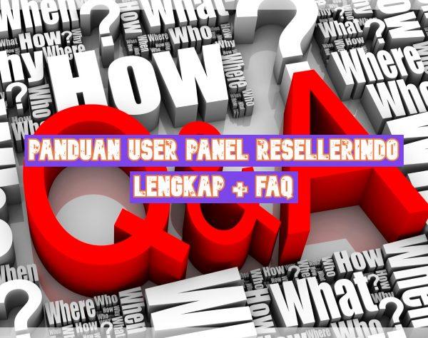 Panduan User Panel Resellerindo Lengkap