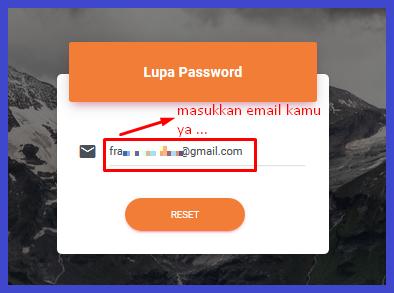 panduan reset password Resellerindo
