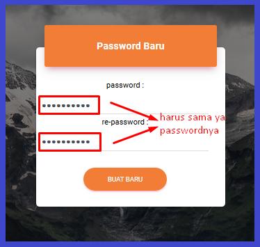 cara reset password di Resellerindo