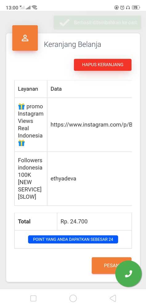 Cara Menggunakan Aplikasi Follower Instagram