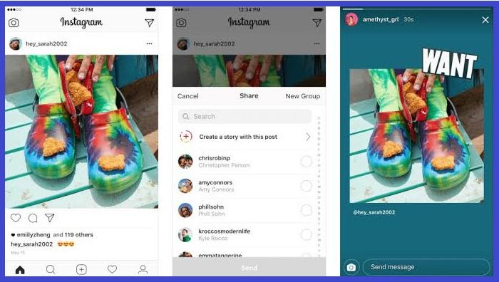 Cara Embed Instagram Feed ke Instagram Story