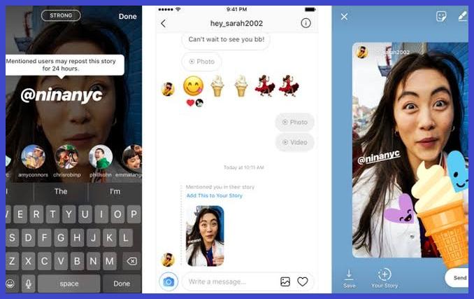 Cara Menambah Instagram Story Repost