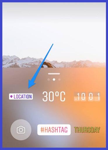 Cara menambah lokasi di Instagram story