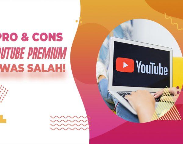 Kontroversi dan Pro YouTube Premium
