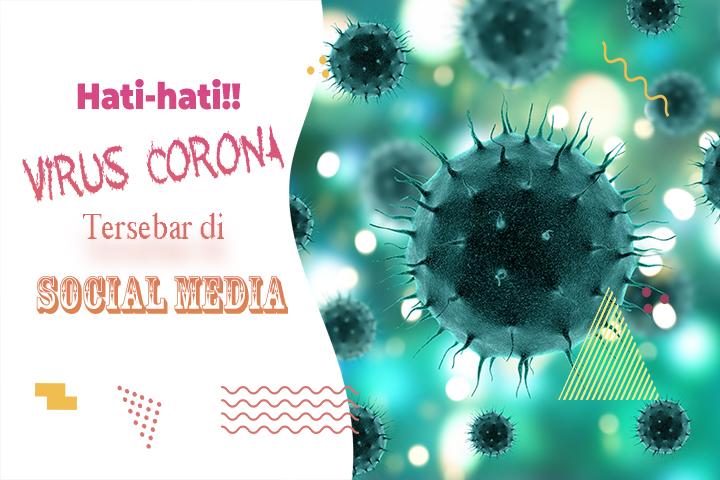 Virus Corona menyebar via Facebook di Indonesia