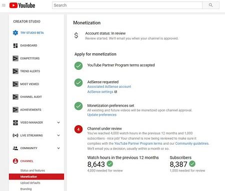 Cara Monetisasi YouTube Update 2020